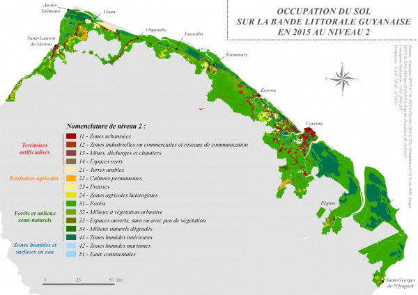 Présentation de la nouvelle étude d'occupation du sol 2015