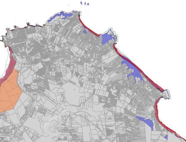 Navigateur cartographique Observatoire de la Dynamique Côtière