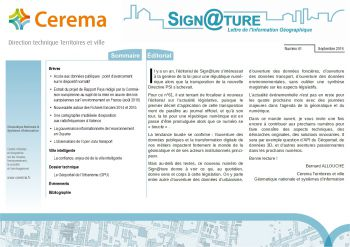 Parution de Sign@ture n°61
