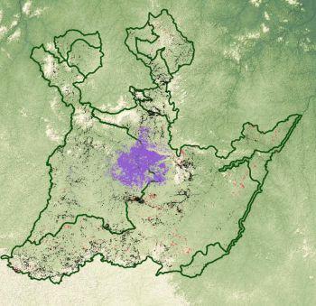 La cartographie des formations végétales particulières du PAG en ligne