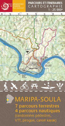 Le PAG complète sa série des cartes parcours et itinéraires