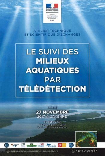 Suivi des milieux aquatiques par télédétection