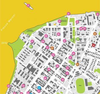 Curiosités architecturales et paysagères de Saint-Laurent du Maroni